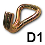 Zakończenie D1 - hak podwójny