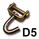 Zakończenie D5 - hak obrotowy